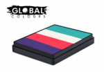 Global Colours Body Art Rainbow Cake Holland 50 g