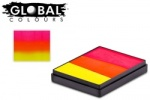 Global Colours Body Art Rainbow Cake India 50 g