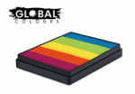 Global Colours Body Art Rainbow Cake New Dehli 50 g