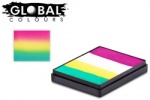Global Colours Body Art Rainbow Cake San Francisco 50 g