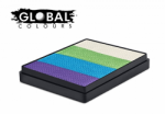 Global Colours Body Art Rainbow Cake Sri Lanka 50 g