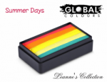 Global Colours Body Art Leanne's Collection Summer Days 30 g