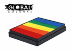Global Colours Body Art Rainbow Cake Tibet 50 g