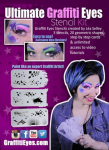 Graffiti Eyes Stencils The Ultimate Graffiti Eyes Stencil Kit