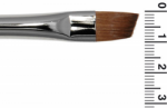 Grimas Red Sable Hair Slanted Brush MS10