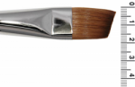 Grimas Red Sable Hair Slanted Brush MS18