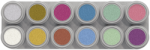 P12 Grimas Pearl Water Makeup Palette 12 x 2.5 ml