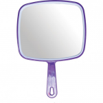 Hand Mirror Purple (Glass)