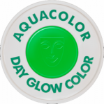 Kryolan Aquacolor UV-Dayglo Green 30 ml