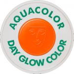 Kryolan Aquacolor UV-Dayglo Orange 30 ml