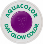 Kryolan Aquacolor UV-Dayglo Violet 30 ml