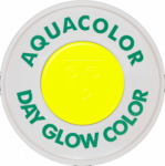 Kryolan Aquacolor UV-Dayglo Yellow 30 ml