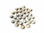 Kryvaline Jewel Crystal Clear Round 8 mm (30 Pack)