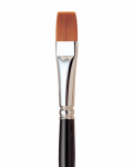 Loew-Cornell LaCorneille 7550 Series Brush Flat 1''
