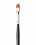 7400 Loew-Cornell LaCorneille Golden Taklon Brush Angled 3/8''