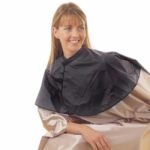 PVC Shoulder Cape Black