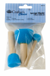Royal and Langnickel Wooden Handle Variety Sponge Mop (3 Pack)