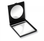 Large Self Standing Double Mirrored Compact