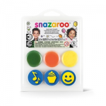 Snazaroo Face Paint Stamp Kit - Birthday