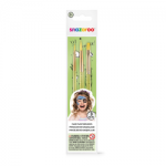 Snazaroo Fun Brush Set 3 Pack (Unisex)