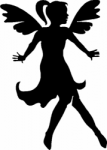 TAG Adhesive Stencil Flying Fairy