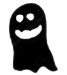 TAG Adhesive Stencil Ghost