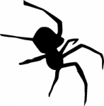 TAG Adhesive Stencil Real Spider