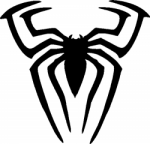 TAG Adhesive Stencil Spiderman Spider