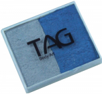 SP0305 TAG Pearl Blue and Pearl Silver Split Cake 50 g