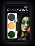 Mehron Tri Colour Makeup Palette Ghoul/Witch