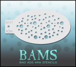 BAM1011 Bad Ass Mini Stencils
