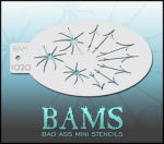 BAM1020 Bad Ass Mini Stencils