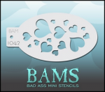 BAM1042 Bad Ass Mini Stencils