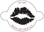 TAP042 Face Painting Stencil Lip Print