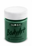 Global Body Art Liquid Face Paint Standard Green Deep 45 ml