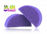 Jest Paint Splash Sponge Half Moon (2 Pack)
