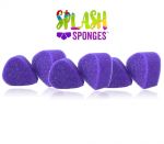 Jest Paint Splash Sponge Tear Drop (6 Pack)