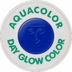 Kryolan Aquacolor UV-Dayglo Blue 30 ml