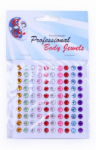 PartyXplosion Body Jewels Dots 100 x 6 mm