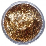 Snazaroo Glitter Gel Red Gold 12 ml