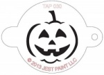 TAP030 Face Painting Stencil Jack O'Lantern